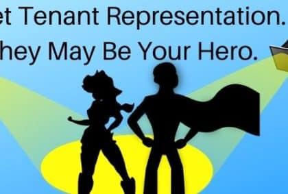 Tenant Representation Helps