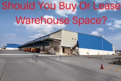 info on buying or leasing warehouse space